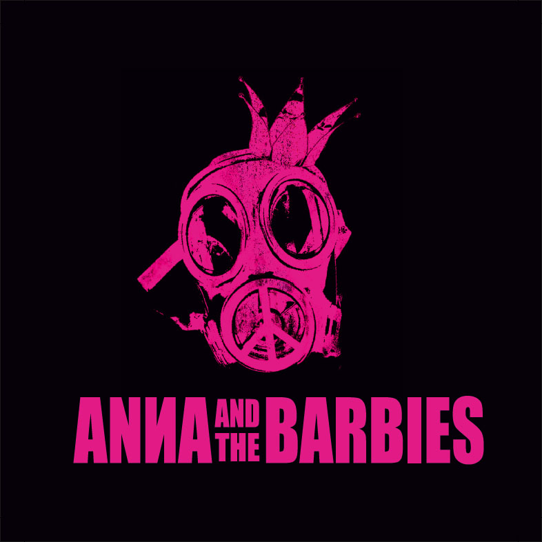 Anna and the Barbies - Zenekari logók 002
